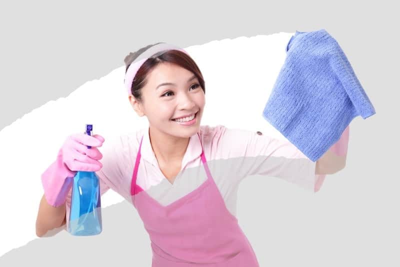 part-time cleaner