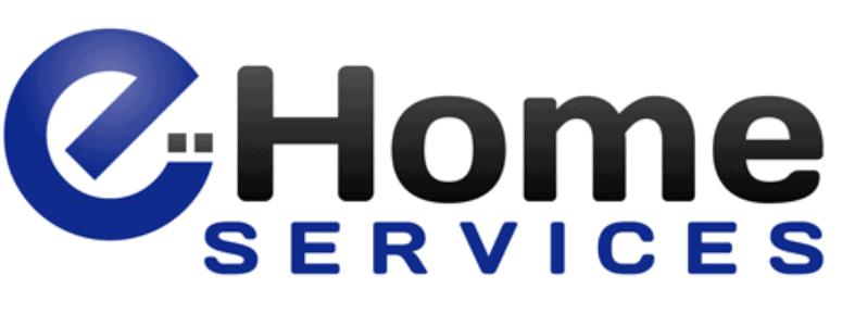E Home Services logo